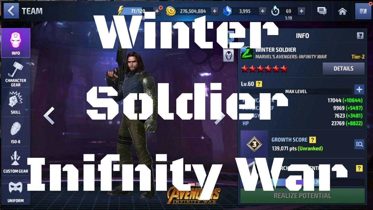 รีวิว Winter Soldier ยู Infinity War