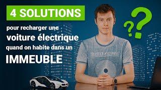 Voiture électrique et appartement : quelles solutions pour la recharge ?