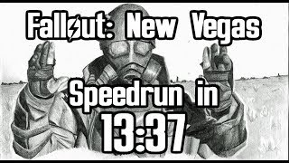 Fallout: New Vegas Beaten in 13:37 (Any% Speedrun)
