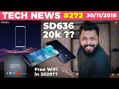 Nokia 7.1 Price Disappointment, Helio P90, FREE WiFi, Lenovo Z5s, Meizu 16th, Samsung R&D-TTN#272