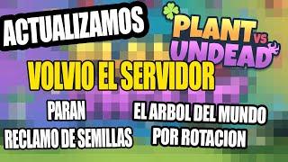 Plants Vs Undead Vuelve El Servidor Con Noticias!!