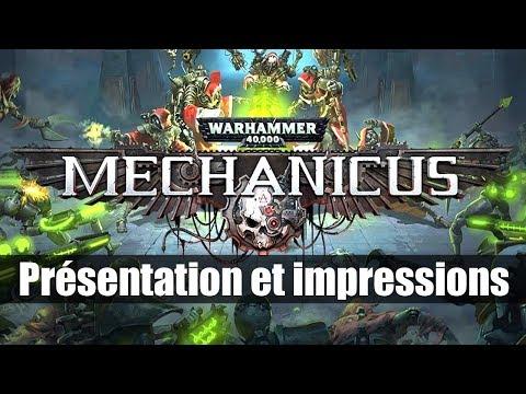 [FR] Warhammer 40K Mechanicus – Présentation et premières impressions