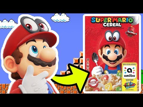 SUPER MARIO CEREAL | Unboxing, Taste Test, amiibo Functionality, & More! [🔴LIVE]