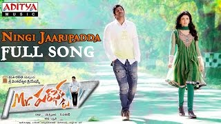 Ningi Jaaripadda Song Lyrics from mr. perfect - prabhas