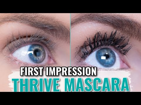 Thrive Liquid Lash Extensions Mascara | First Impression & Review- Better Than Lash Extensions?