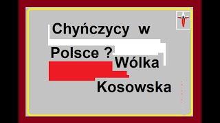Chińczycy w Polsce ? Wólka Kosowska