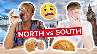 Northern & Southern English People Swap Snacks