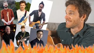 The SEXIEST Men of the YouTube Guitar Community RANKED!