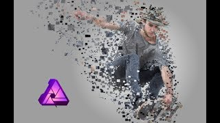 Square Dispersion Effect   Affinity Photo