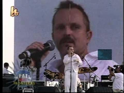 Miguel Bose - Si Tu No Vuelves (DVD Paz Sin Fronteras / Cuba / 20.09.2009)