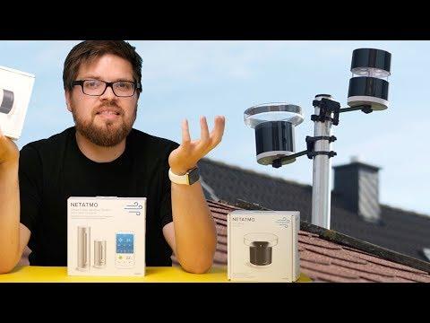 Netatmo Wetterstation mit Regenmesser und Windmesser im Test
