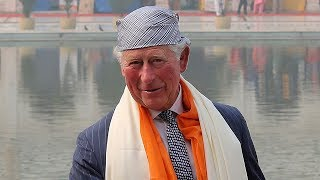 video: Prince Charles hails the 'inspiring principles' of Sikhism as he embarks on visit to India