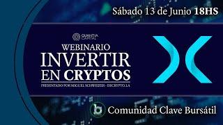 INVERTIR EN CRYPTO - Webinario con Miguel Schweizer