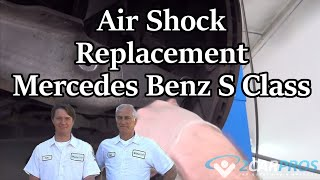 Shock Replacement (Air) Mercedes Benz S Class