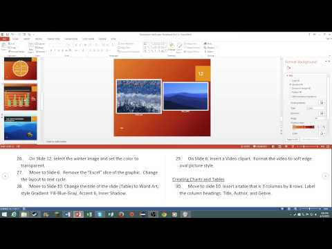 MOS: Microsoft PowerPoint 2013 Certification Review - YouTube