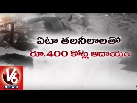 TTD-Earns-400-Crores-Per-Annum-from-Hair-Auction-Tirupati-V6-News-06-03-2016