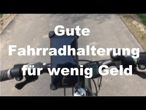 fahrrad smartphone halterung test