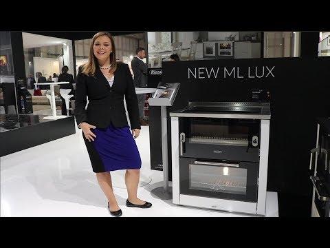 Rizzoli - ML80 Lux Wood Cookstove