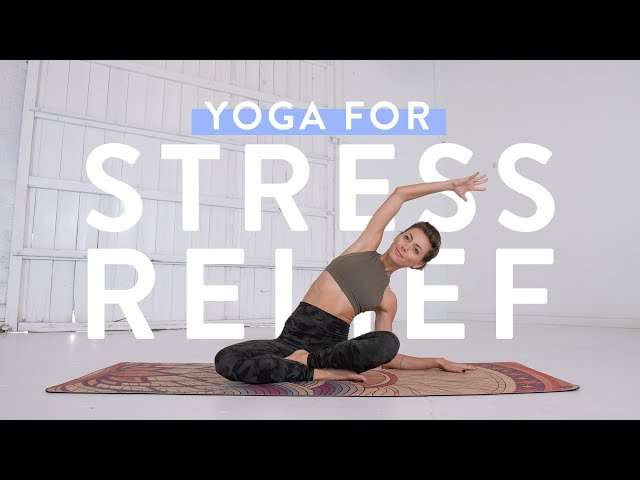 Yoga for STRESS RELIEF ???? Full Length 30-Minute Yoga Class with Ashton August