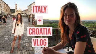 Italy + Croatia VLOG | My Summer Vacation | Emily DiDonato