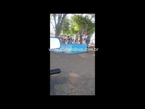 Policiais da ROCAM fazem a alegria de crianças em creche