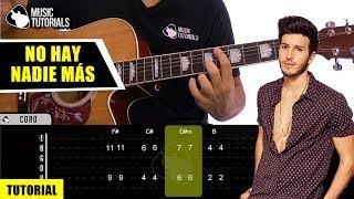 Cómo Tocar No Hay Nadie Más De Sebastián Yatra En Guitarra  Tutorial + Pdf