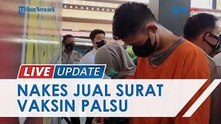 Oknum Perawat Puskesmas di Makassar Jual Surat Vaksin Palsu, Banderol Harga Rp50 Ribu per Orang