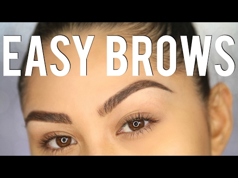 PERFECT EYEBROWS IN 3 STEPS - Eyebrow Tutorial For Beginners | Roxette Arisa