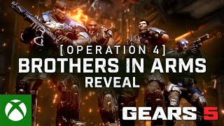 Xbox Gears 5 Operation 4 Reveal Trailer anuncio