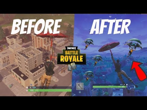 Tilted Towers BEFORE AND AFTER THE UPDATES! (Then Vs Now)