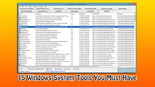 15 Windows System Tools You Must Have
