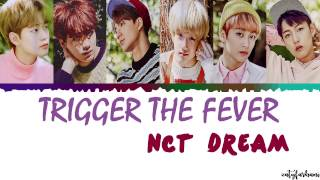 NCT DREAM - Trigger The Fever Lyrics [Color Coded_Han_Rom_Eng]