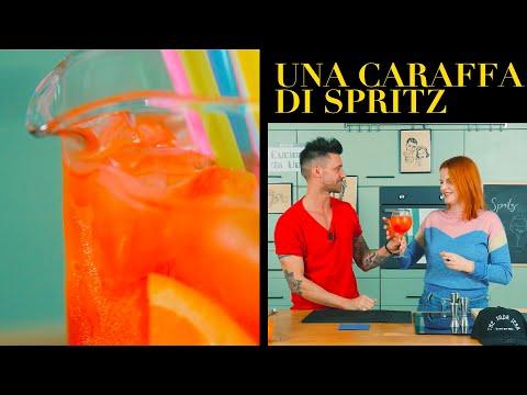 Come preparare una caraffa di Spritz: l'aperitivo italiano - BARMAN - Claudio Peri |Cucina da Uomini
