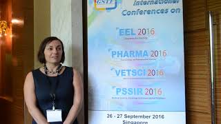 Dr. Kinga Sałat at PHARMA Conference 2016 by GSTF