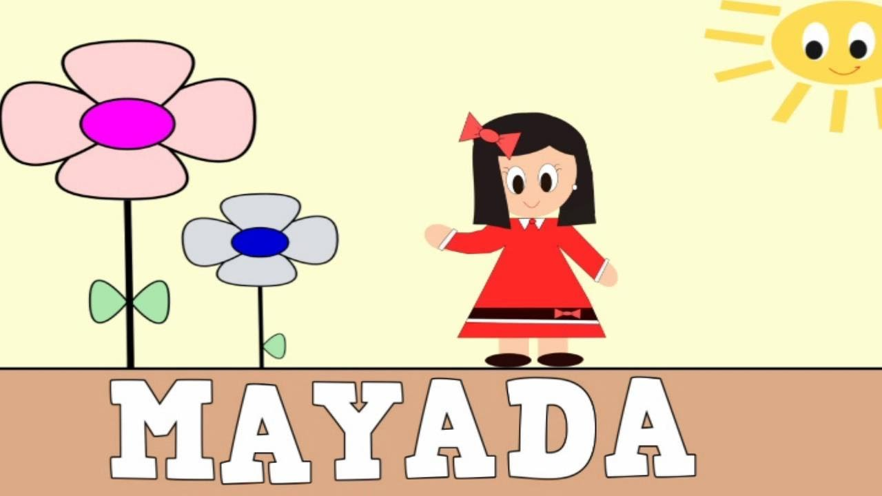 Aprender a Leer y Escribir MAYADA - Vídeos educativos para Niñosy Bebés - Paty y Poty
