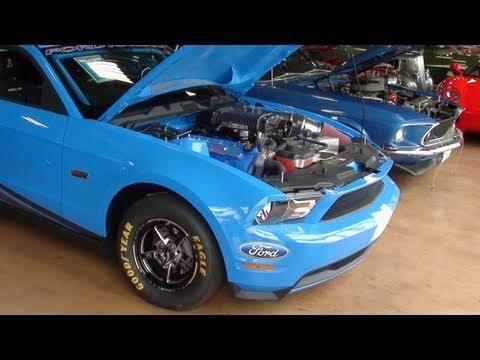 2012 Ford Mustang Super Cobra Jet – Supercharged DOHC V8 Drag Car