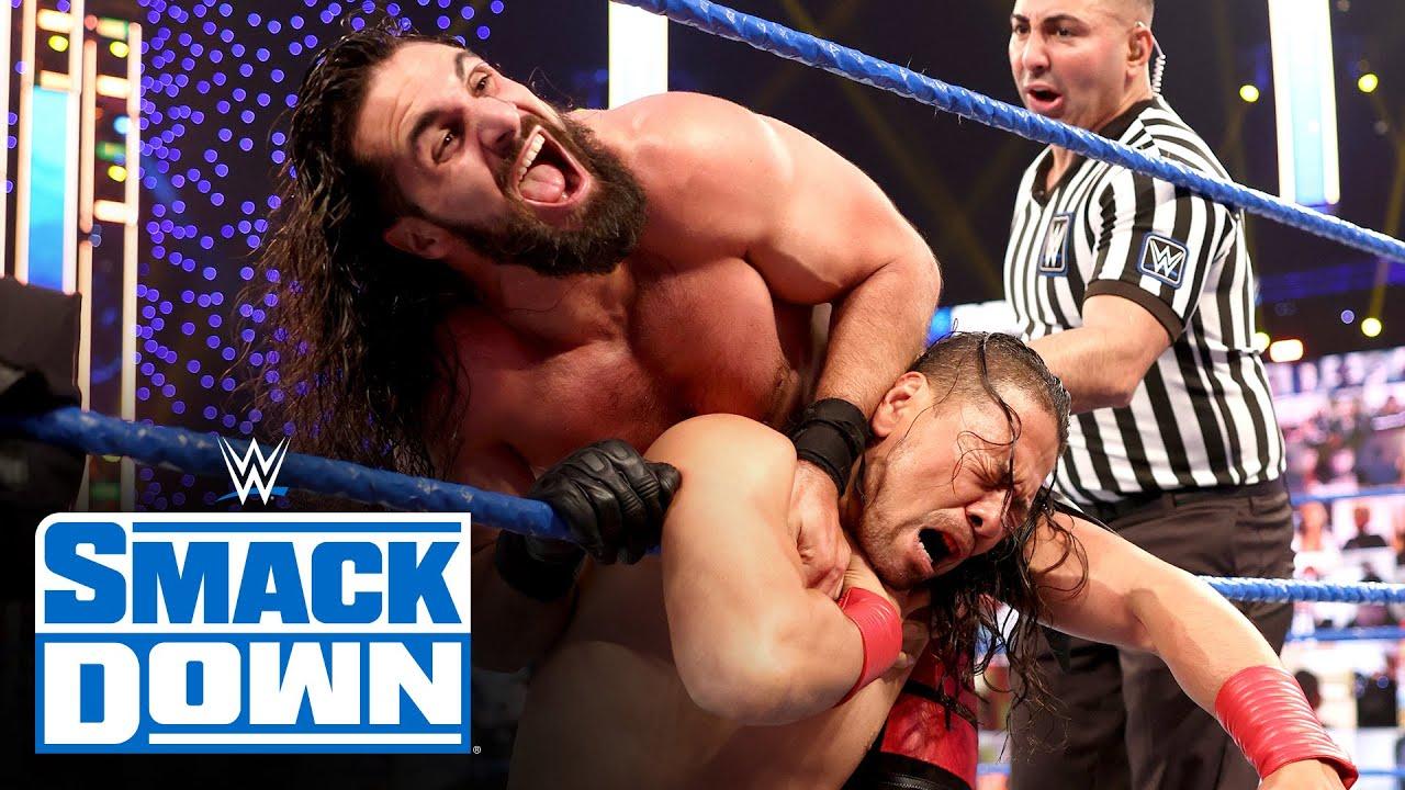 Seth Rollins Vs. Shinsuke Nakamura Rematch From WWE Fastlane On SmackDown