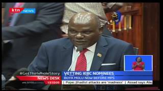 IEBC nominees appear before Justice and Legal Affairs Committee for vetting