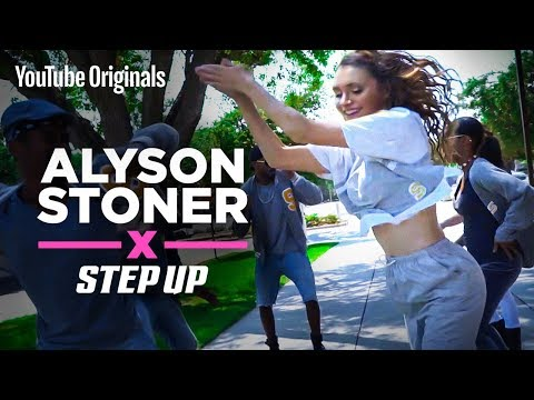 Alyson Stoner | Finding her step stroll groove | Step Up: High Water
