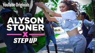 Alyson Stoner   Finding her step stroll groove   Step Up: High Water