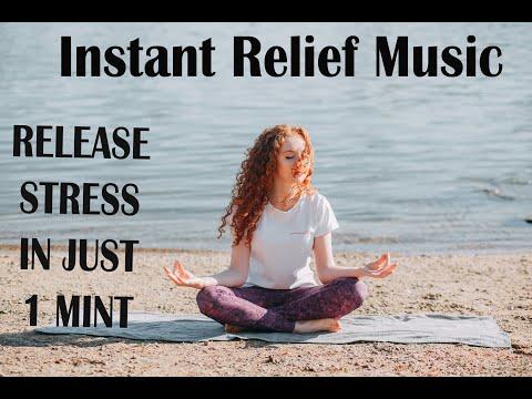 Instant relief relaxing & clam music for meditation sleep 24/7 healing deep sleep meditation spa