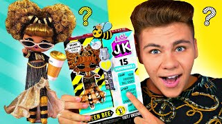 J.K QUEEN BEE МИНИ OMG? LOL Surprise королева Квин Би! ???? Обзор и распаковка