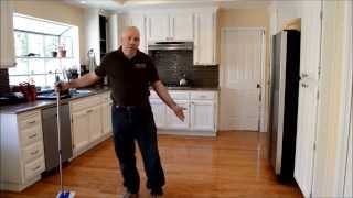 "How to clean ""Hardwood floors"" in under 5 minutes"