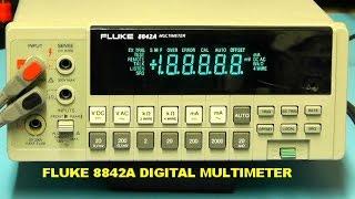 Scullcom Hobby Electronics #10   Fluke 8842A Digital Multimeter Review & Teardown