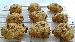 rock buns without self raising flour