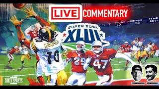 SUPER BOWL 43 LIVE COMMENTARY