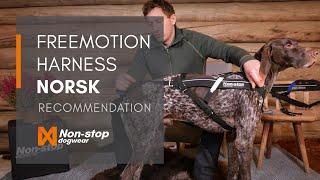 Non-stop dogwear Freemotion trekksele NO