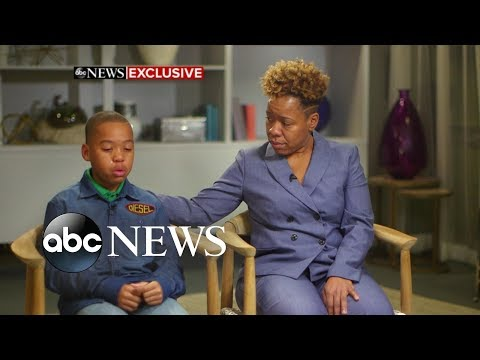 Mom, son accused of groping woman speak out