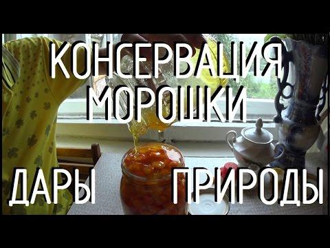 дары природы / консервация морошки / морошка в меду