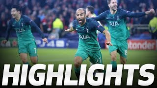 LUCAS MOURA'S INCREDIBLE HAT-TRICK | HIGHLIGHTS | Ajax 2-3 Spurs (UEFA Champions League Semi-final)